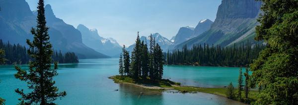 Park Jasper v Kanadě