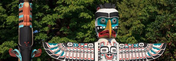 totemy ve Vancouveru
